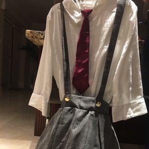 School girl dance costume